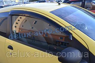 Ветровики Cobra Tuning на авто Peugeot 107 3d 2005 Дефлекторы окон Кобра для CITROEN C1 3d 2005-2008