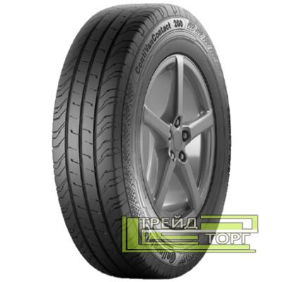 Літня шина Continental ContiVanContact 200 195/75 R16C 107/105R PR8