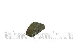 Шпонка сегментная полукруглая  4*12 mm , r=5 mm