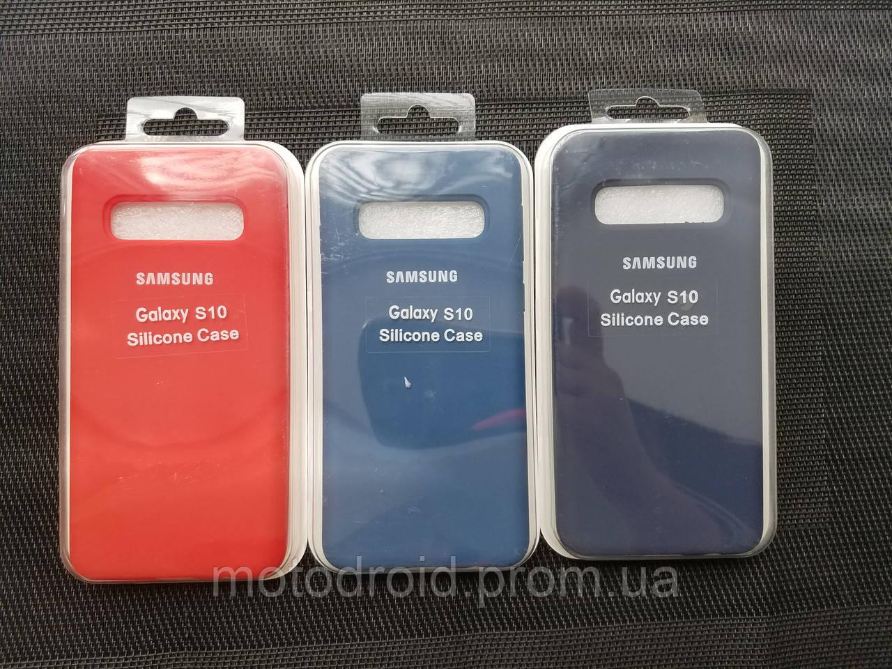 Silicone case чохол для Samsung Galaxy S10