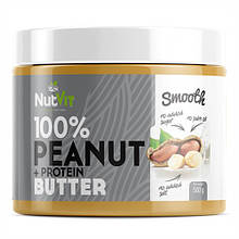 Натуральне арахісове масло OstroVit Peanut + Protein Butter (500 g)