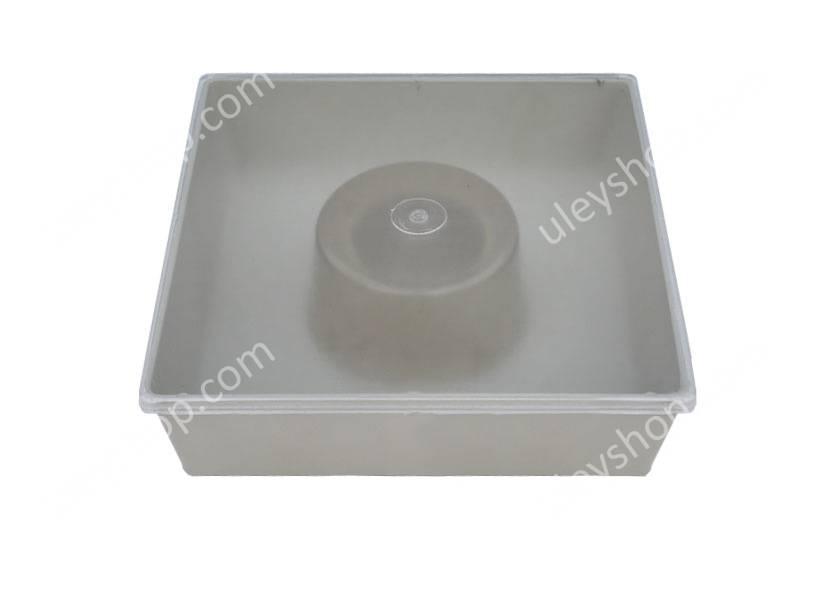 Кормушка квадратная с одним стаканом 1,8 л