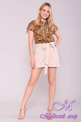 Короткие женские летние шорты (р. S, M, L) арт. 7329 - 43004, фото 2
