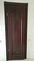 Двері(двери) з натурального масиву дерева(ясен, дуб, клен).