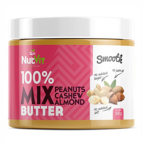 Натуральное масло  OstroVit NUTVIT Nut Butter Mix (500 g)