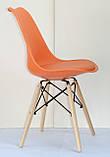 Стілець Milan B, помаранчевий, фото 3