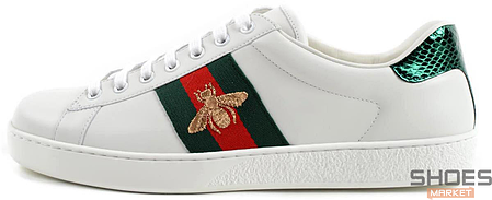 Мужские кроссовки Gucci Ace Embroidered 429446 A38G0 9064, Гуччи Эйс Емброидеред, фото 2
