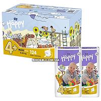 Подгузники Для Детей HAPPY BELLA BABY Maxi Plus 9 20 Кг 2x62 Шт (5900516017347)