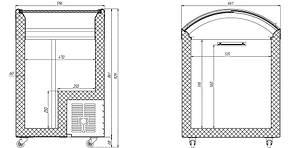 Морозильна скриня M100 V Juka, фото 2