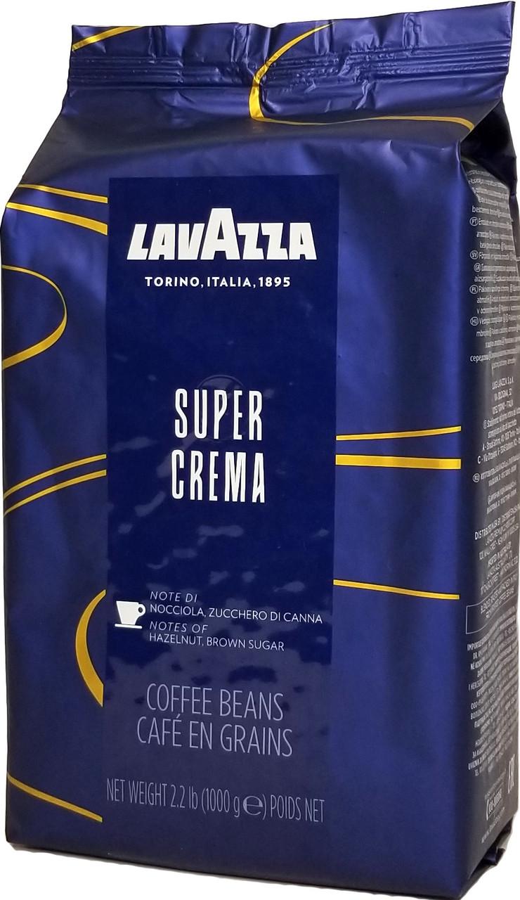 Кофе в зернах Lavazza Super Crema 1 кг