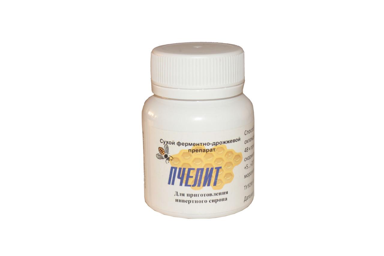 Пчелит (ферментно-дрожжевой препарат), порошок 20 г на 50 кг сахара