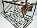 Сушка для посуды двухъярусная из нержавеющей стали GA Dynasty 17025, фото 8