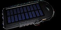 Портативная Зарядка (Солнечное Зарядка) Power Bank 12000 mAh