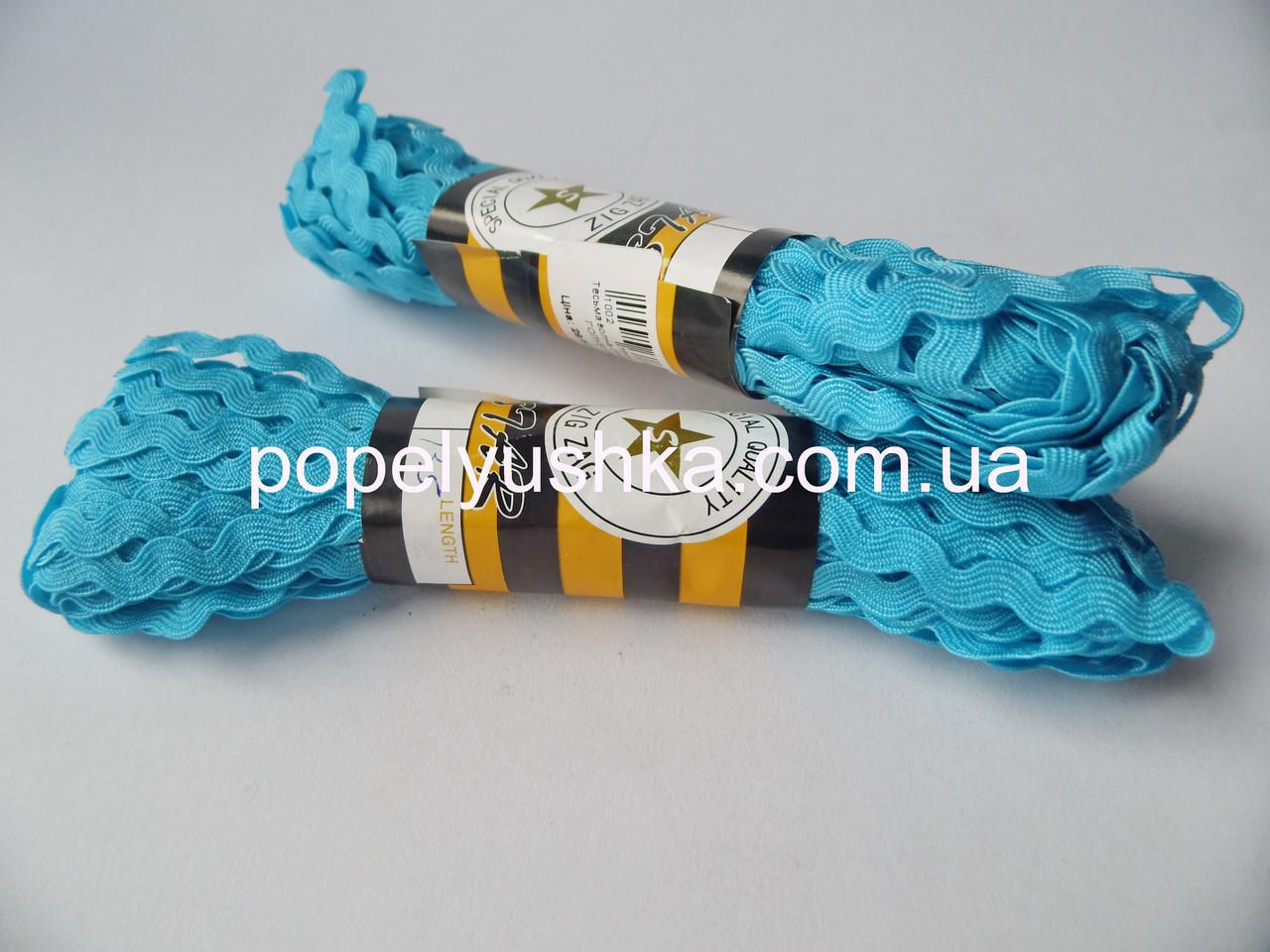 Тесьма В'юнчик 0.5 см Голубий