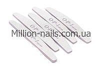 Пилка для ногтей OPI  полукруг 80/180, серая