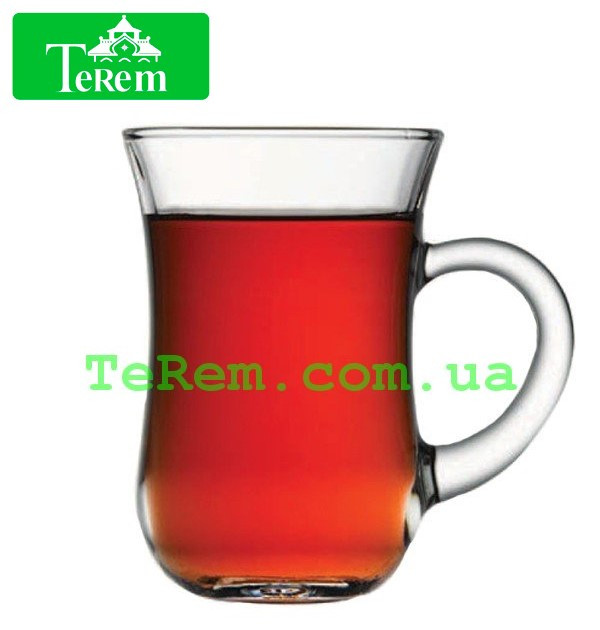 Набор стаканов для чая с ручкой 6 шт Basic 145 мл 55411