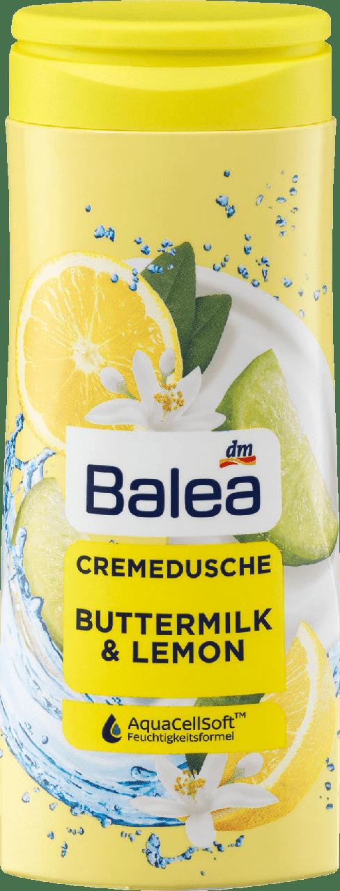 Крем - гель для душа Balea Buttermilk & Lemon, 300 мл.