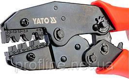 Инструмент для обжима и зачистки проводов  220мм YT-2250