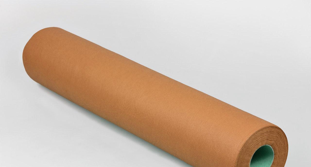 Одноразовая простынь в рулоне Спанбонд Panni Mlada 20 г/м² 0,6x200 м 10 УП 10 ШТ Коралловая