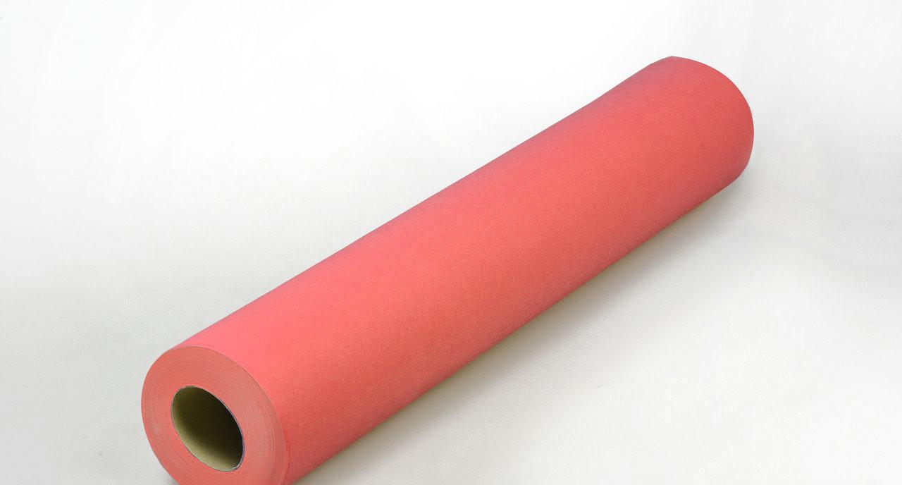 Одноразовая простынь в рулоне Спанбонд Panni Mlada 20 г/м² 0,6x200 м 5 ШТ Красная