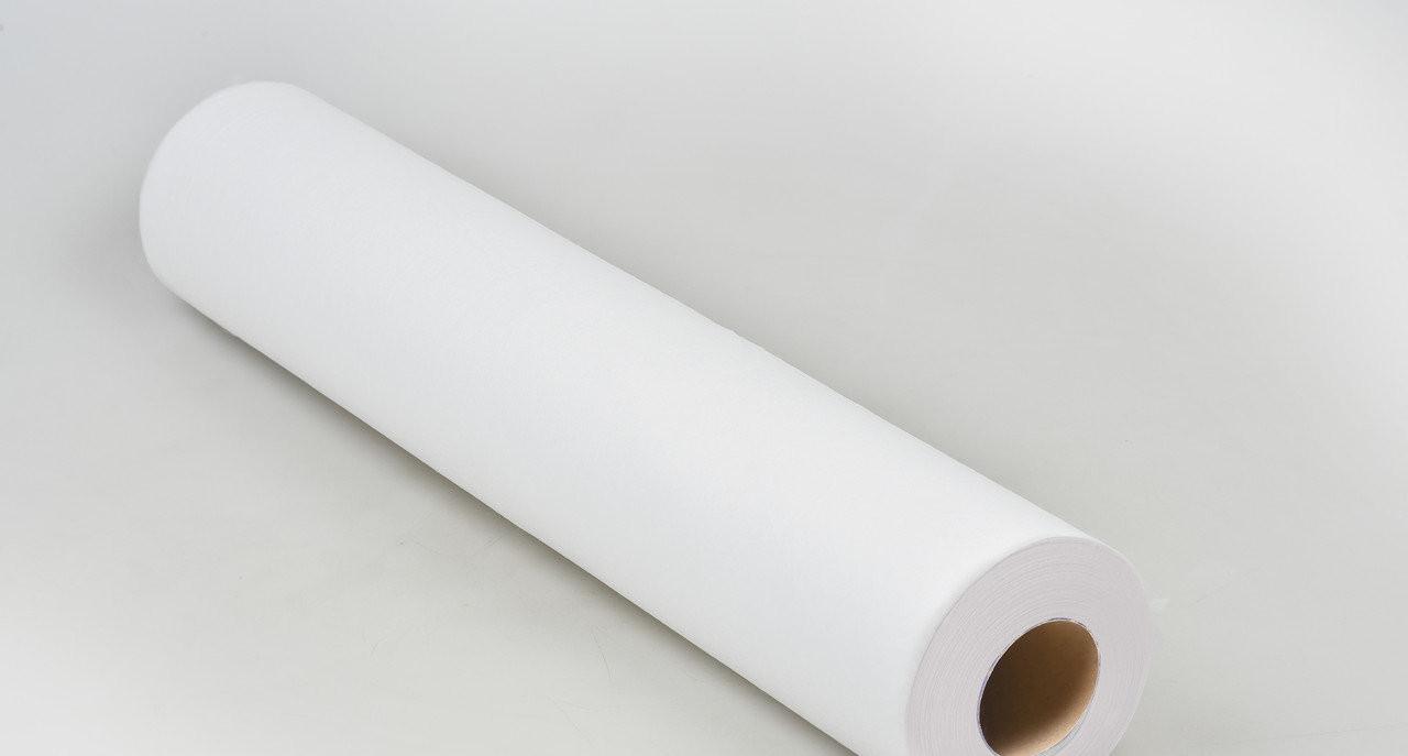 Одноразовая простынь в рулоне Спанбонд Panni Mlada 20 г/м² 0,6x500 м Белая