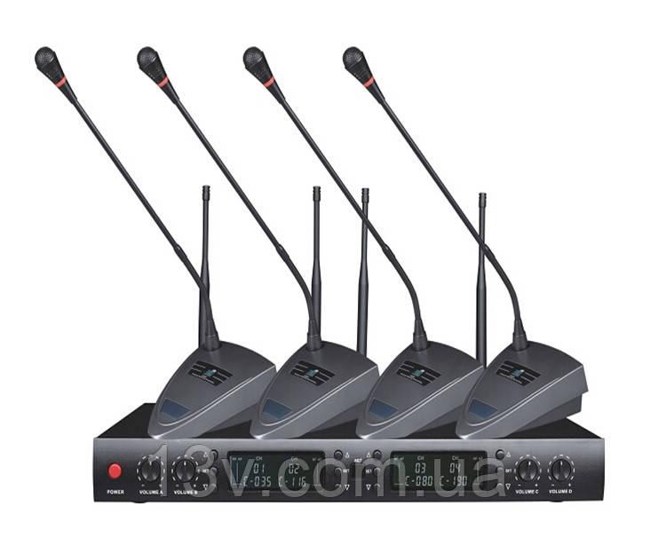 Беспроводная конференционная микрофонная система SF-4600