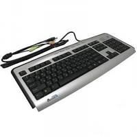 Клавиатура A4tech KLS-23MU-R  Silver-Black (код 191360)