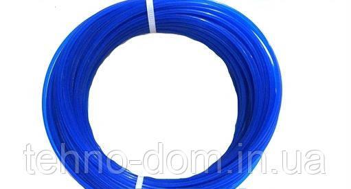 Леска на электрокосы круглая d=1.6 mm, 15 метров