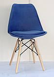 Стул Milan Soft B, синий, фото 4