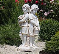 Садовая фигура Романтика 90х45х30 см ССК12215 цвет кремовый, фото 1
