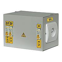 Ящик с понижающим трансформатором ЯТП 0,25 кВт 220/12В 3 IP30 IEK