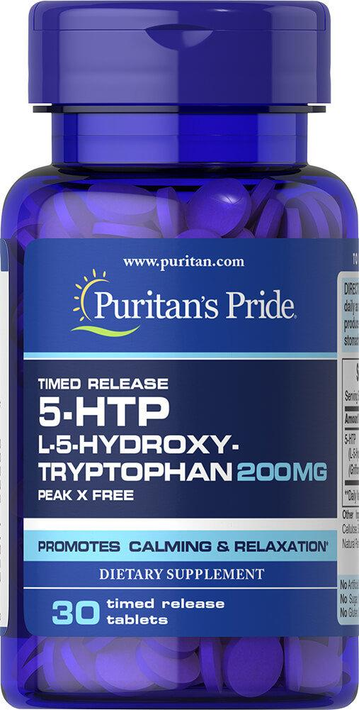 Puritan's Pride 5-HTP 200 mg 30 tabs