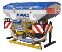 Багатофункціональний бункер Alpego Fertidrill ASmaX та ASF, фото 1
