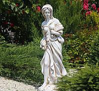 Садовая фигура Богиня Осени 82х24х26 см ССК12039 цвет кремовый, фото 1