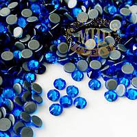 Стразы Xirius Crystals (Hotfix), цвет Caprie Blue, ss20 (4.6-4.8mm), 100шт