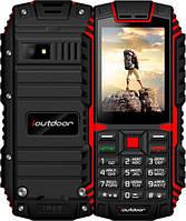Телефон iOutdoor T1 red  IP68 (2SIM) (оригинал,с рус кнопками!)