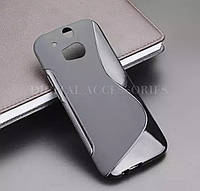 Чехол S-line TPU для HTC One M8 силикон на телефоны НТС М8 силиконовий защита ТПУ