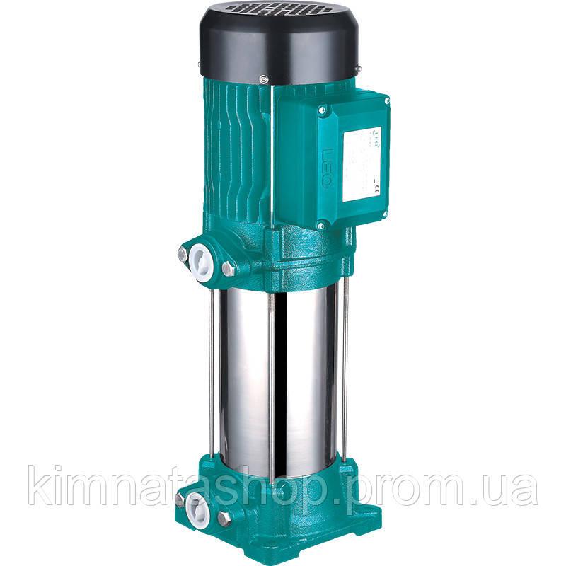 Насос відцентровий вертикальний багатоступінчастий 1.1 кВт Hmax 82м Qmax 67 л/хв LEO 3.0 (775446)
