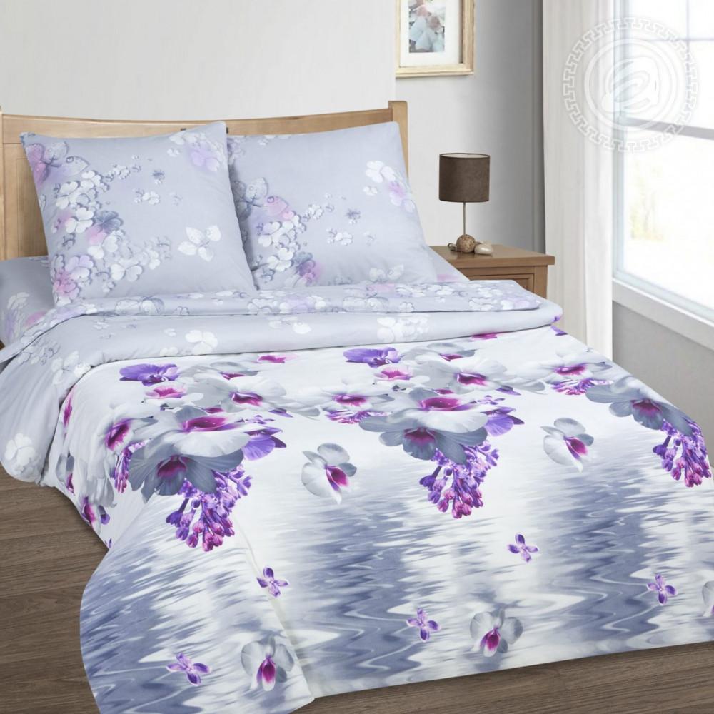 Постельное белье Незнакомка поплин ТМ  Комфорт-текстиль  (Полуторный)