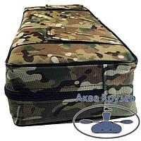 Мягкая накладка 650х200х100 мм на сиденье надувной лодки, цвет камуфляж, фото 1