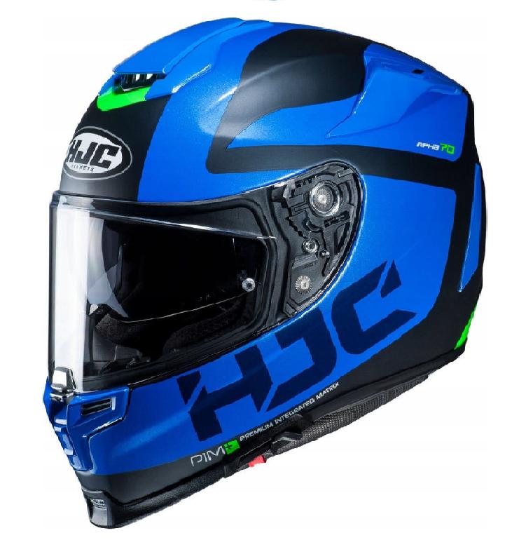 Мотошолом Hjc RPHA-70 Balius MC2SF (Blue)