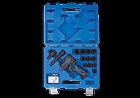 "Пневматический гайковерт 1/2"" мини 678 Нм с набором головок в кейсе KING TONY 44802FMP (Тайвань)"