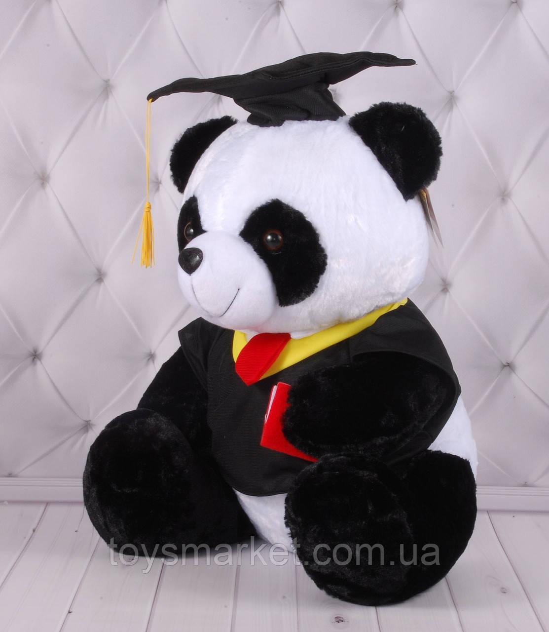 """Мягкая игрушка Панда №2 """"Выпускник"""", плюшевый мишка, плюшевая Панда"""