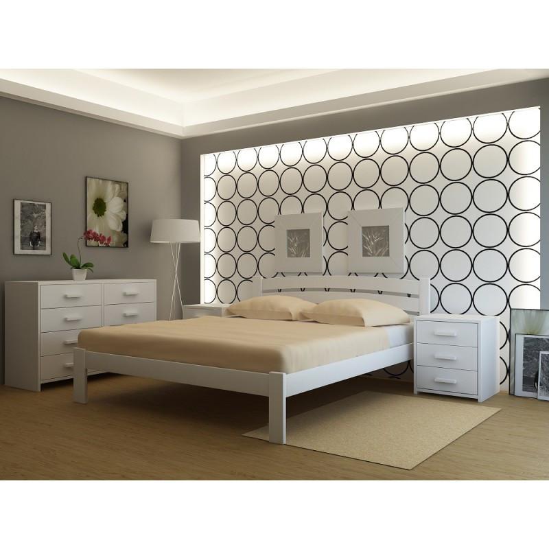 """Кровать деревянная TM """"YASON"""" Madrid (Массив Ольхи либо Ясеня)"""