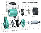 """Насос відцентровий 380В 4.0 кВт Hmax 39м Qmax 900л/хв 2"""" LEO 3.0 (7752723), фото 3"""