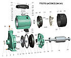 """Насос відцентровий 380В 5.5 кВт Hmax 46,5 м Qmax 900л/хв 2"""" LEO 3.0 (7752733), фото 3"""