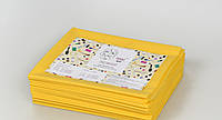 Одноразовые простыни в пачке Спанбонд Panni Mlada 20 г/м² 0,8x2 м 100 ШТ/УП Желтые, фото 1