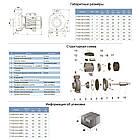 """Насос центробежный 380В 3.0кВт Hmax 20м Qmax 1200л/мин 4"""" LEO 3.0 (7752873), фото 2"""