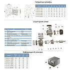 """Насос центробежный 2.2кВт Hmax 17.5м Qmax 1100л/мин 3"""" LEO 3.0 (775292), фото 2"""