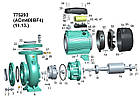 """Насос відцентровий 4.0 кВт Hmax 16,5 м Qmax 1600л/хв 4"""" LEO 3.0 (775293), фото 3"""